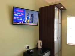 Room 8 Large Screen Smart TV.