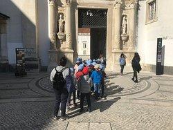 Kids visit to the University