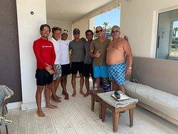 Herr Murat und sein Team sind beim Wassersport immer hilfsbereit und sehr professionell