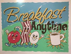 Always breakfast time at DeeGee's