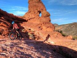 Mountain biking in Paradise canyon