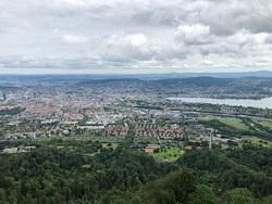Zurich from the tower