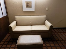 Microtel inn and Suites by Wyndham , this is a suite room