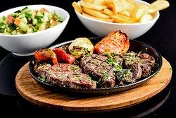 our juicy entrecote steak
