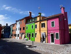 Burano - a feast of colour