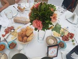 Wedding reception @amphitheatre