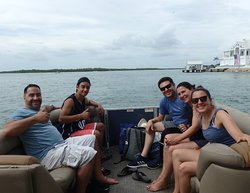Some of our buddy Sal from Davinci's family, who went put with Capt. RJ yesterday. #docjimmyscureall #marcoisland #naplesflorida #naplesfl