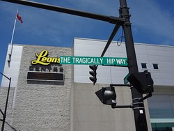 Located at 1 The Tragically Hip Way