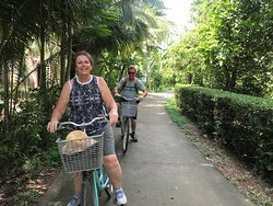 Cycling in the Mekong