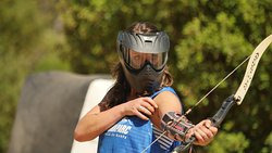 Toujours être en mouvement en Archery Tag !
