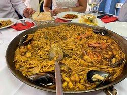 Heerlijke paella
