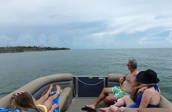 Mom, Dad and Daughter out for a remarkable trip with Capt. RJ. #docjimmyscureall #marcoisland #naplesflorida #naplesfl #ecotourism #boat