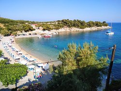 Roussoum Gialos Beach