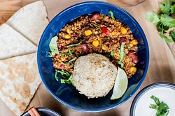 Chili con carne is a great idea for lunch!