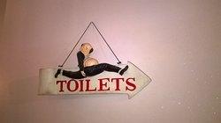 insegna toilette