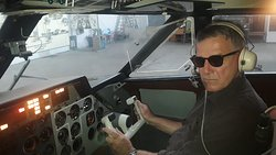 In a real LET-410 at National Aviation University NAU