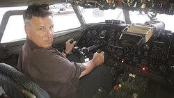In a real An-24 RV at  National Aviation University NAU