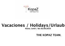 KopaZ Cafe-Tapas-Pub