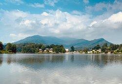Beautiful summer day at Lake Junaluska.