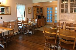 Dining room for yummy hot breakfast