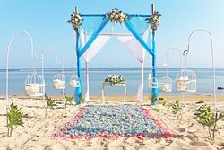 Marry your significant other in the most romantic setting while exchanging your vows on the white sandy beach and surrounded by those who matter most   Drop your email to wedding@samabe.com or visit us here https://www.samabe.com/en/bali-weddings/