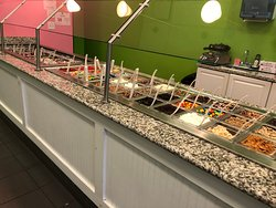 Sweet Frog - toppings...lots of them!