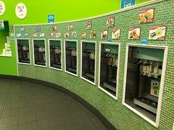 Sweet Frog - fro-yo dispenser machines