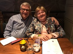 Us, on our 40th wedding anniversary trip