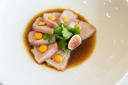 Spicy Hamachi Crudo