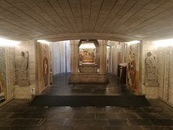 Cripta de la catedral.