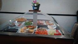 buffets entrées a volonté