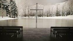 Church on the water, Hokkaido Japan