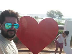 i love you udaipur sightseeing point  mr pankaj bhati owner of cabwale