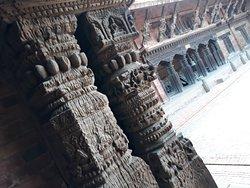 Beautiful wooden architecture of Kathmandu Valley