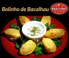 Delicioso Bolinho de Bacalhau diretamente de Portugal