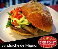 Saboroso Sanduíche Gourmet de Filé Mignon