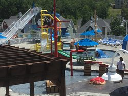 Kids area in pool