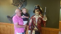 A little fun with the pirate.