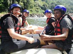 White water rafting in Kithulgala