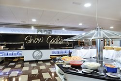 Buffet con Show Cooking