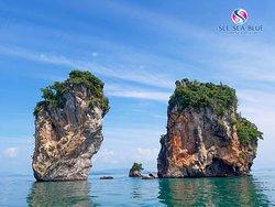 """✅Line ID : seeseablue_marine ✅E-mail : seeseabluemarine@gmail.com ✅Contact : 091-825-7007, 088-768-6006,095-418-1001 🛄Facebook : see sea blue marine 🛄Tripadvisor : see sea blue marine  อยากพัก อยากเที่ยว อยากนั่งเรือ  """"SEE SEA BLUE MARINE""""  🙏🏼 Thank you 🙏🏼"""