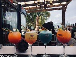 Sun in the fun at the Landmark Beach Lagos!! Travis Bar is an exquisite cocktail bar at the Landmark leisure beach.
