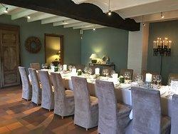 Huiskamerrestaurant prive vanaf 12 tot 30 personen