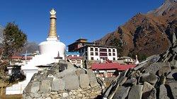 Tenboche Monastery photo taken by Nepal Gateway Trekking crew.