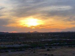 Incredible sunset views!