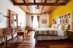 """""""Over the Bridge"""" master bedroom"""