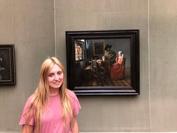 My daughter and her Vermeer