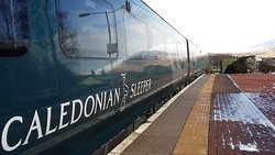 Caledonian Sleeper direct from London to Rannoch Station
