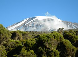 The highest free standing mountain in the world, the Mountain that need no words for his bountifulness and amazing view.