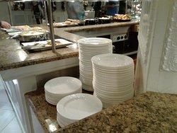 Clean buffet